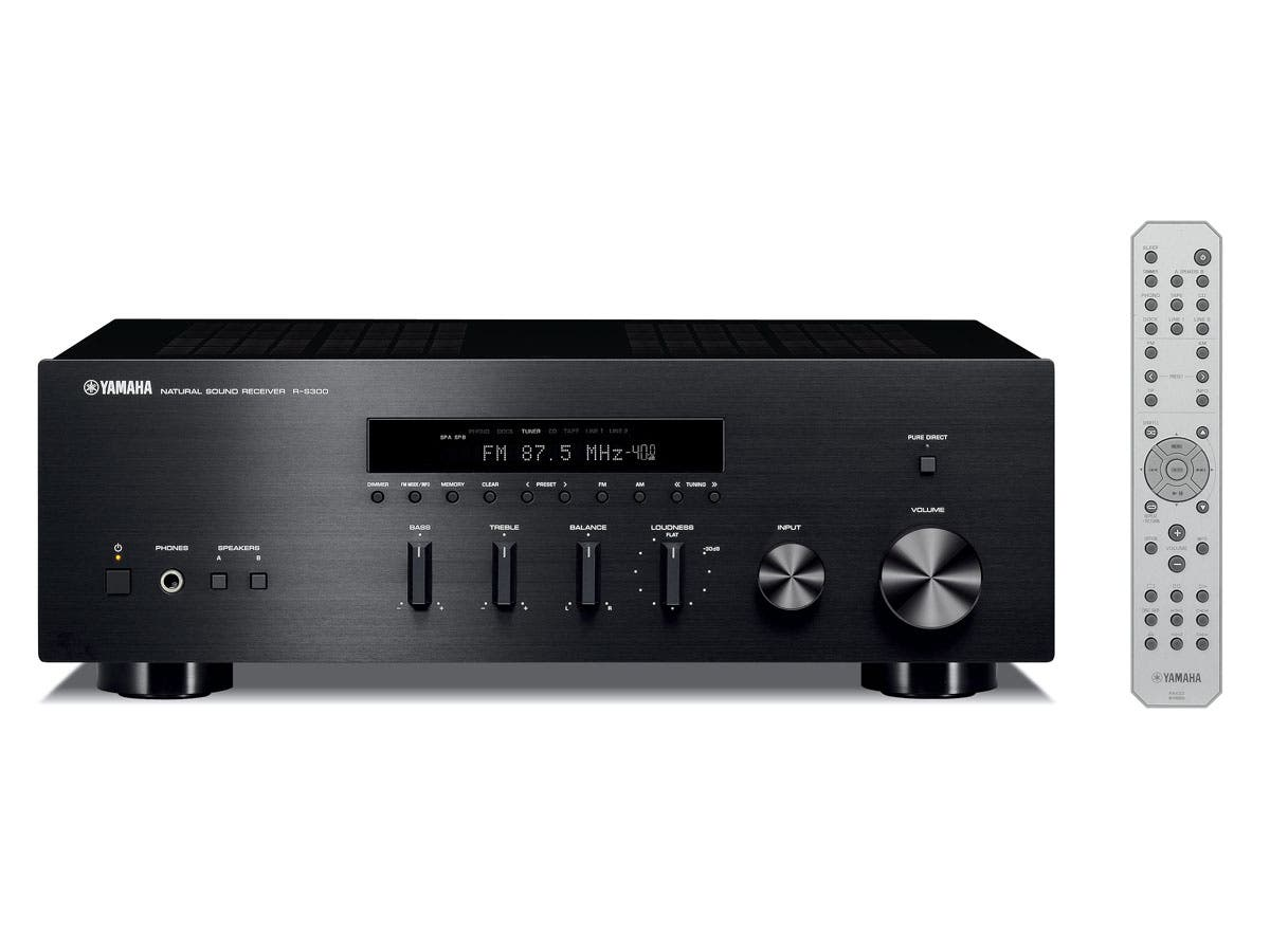 R-S300 - Yamaha Natural Sound 2.1 Stereo Receiver-Large-Image-1