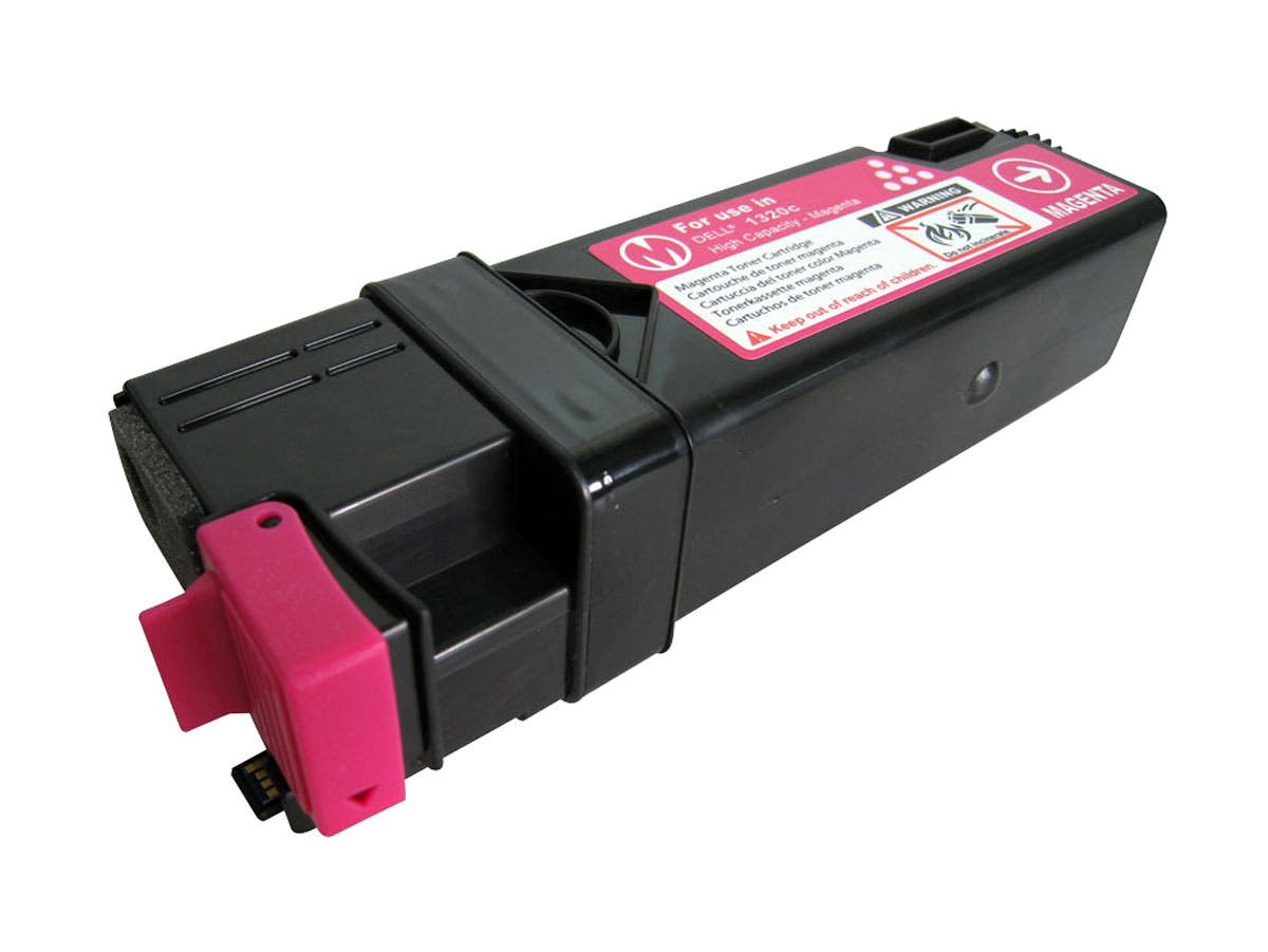 Monoprice Compatible Dell 331-0717 Toner - Magenta-Large-Image-1