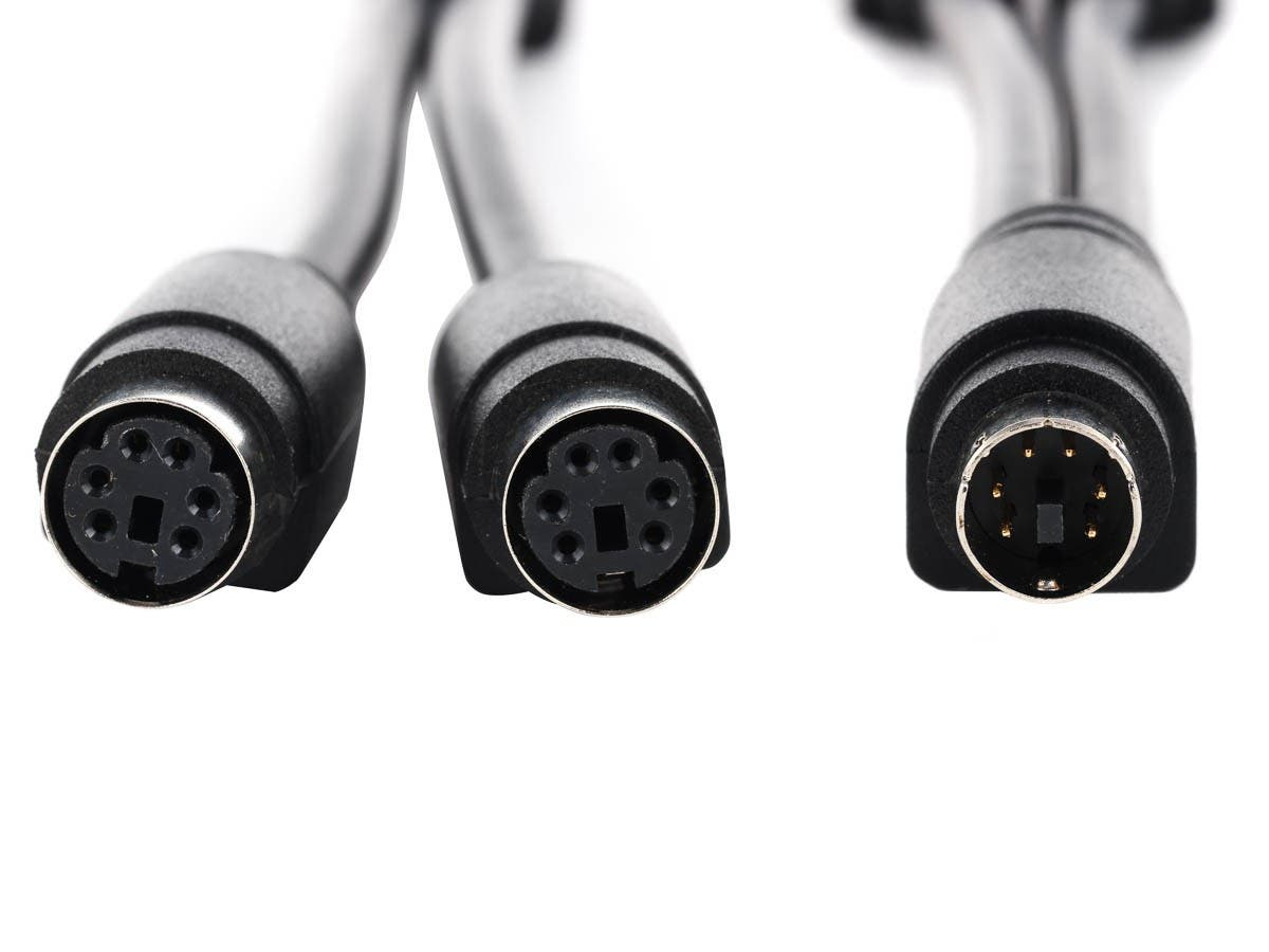 Monoprice PS/2 Y Splitter Cable for Notebook - Monoprice.com