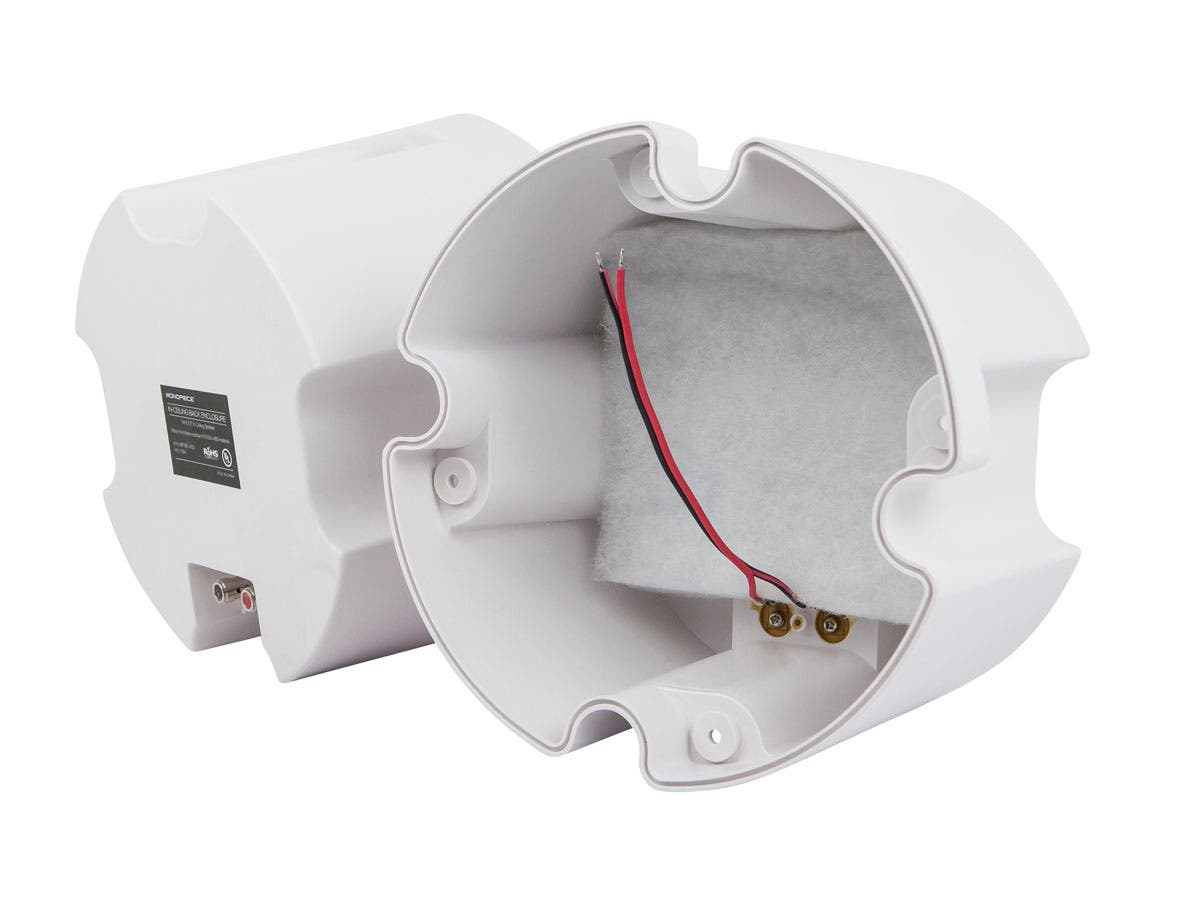 Monoprice ABS Back Enclosure (Pair) for PID 4103, 6.5in Ceiling Speaker (Will not work for PIDs 4102 or 4104)-Large-Image-1