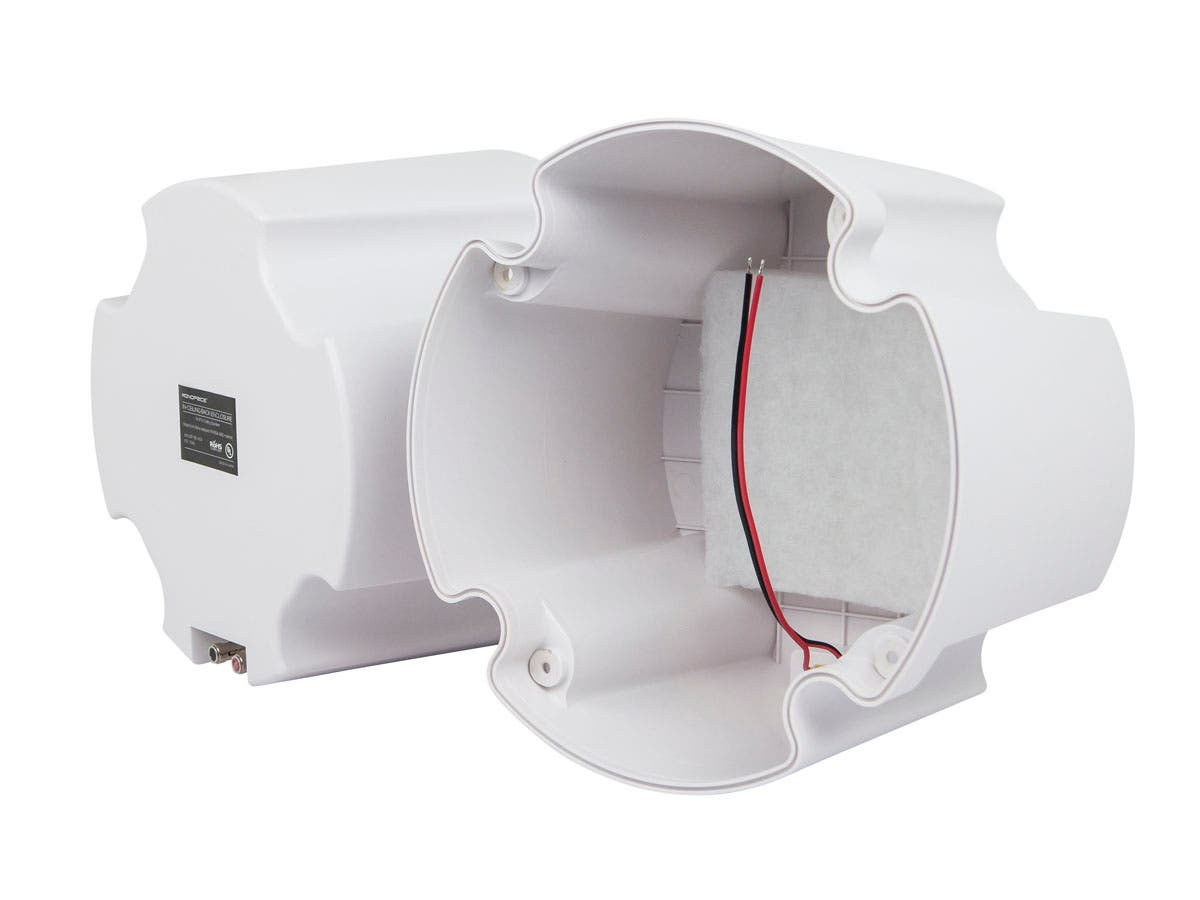 Monoprice Abs Back Enclosure Pair For Pid 4104 8in Ceiling Speaker Boxes Used Lights Arent Strong Enough To Hold A Large