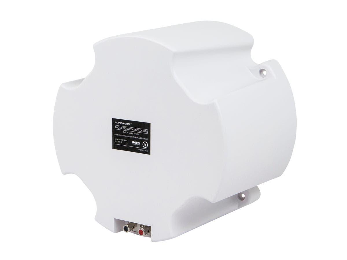 abs back enclosure (pair) for pid 4104 8in ceiling speaker