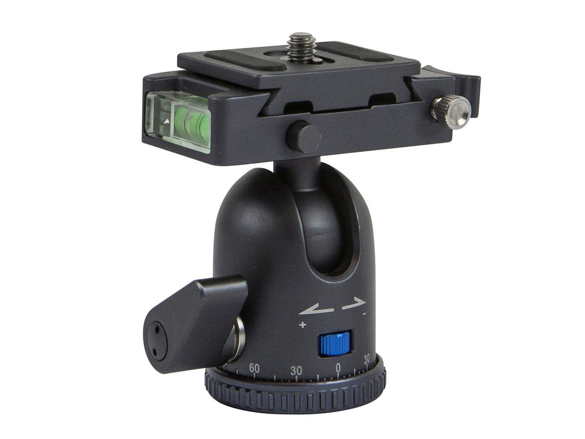 Camera Head Mini Ball with Plate