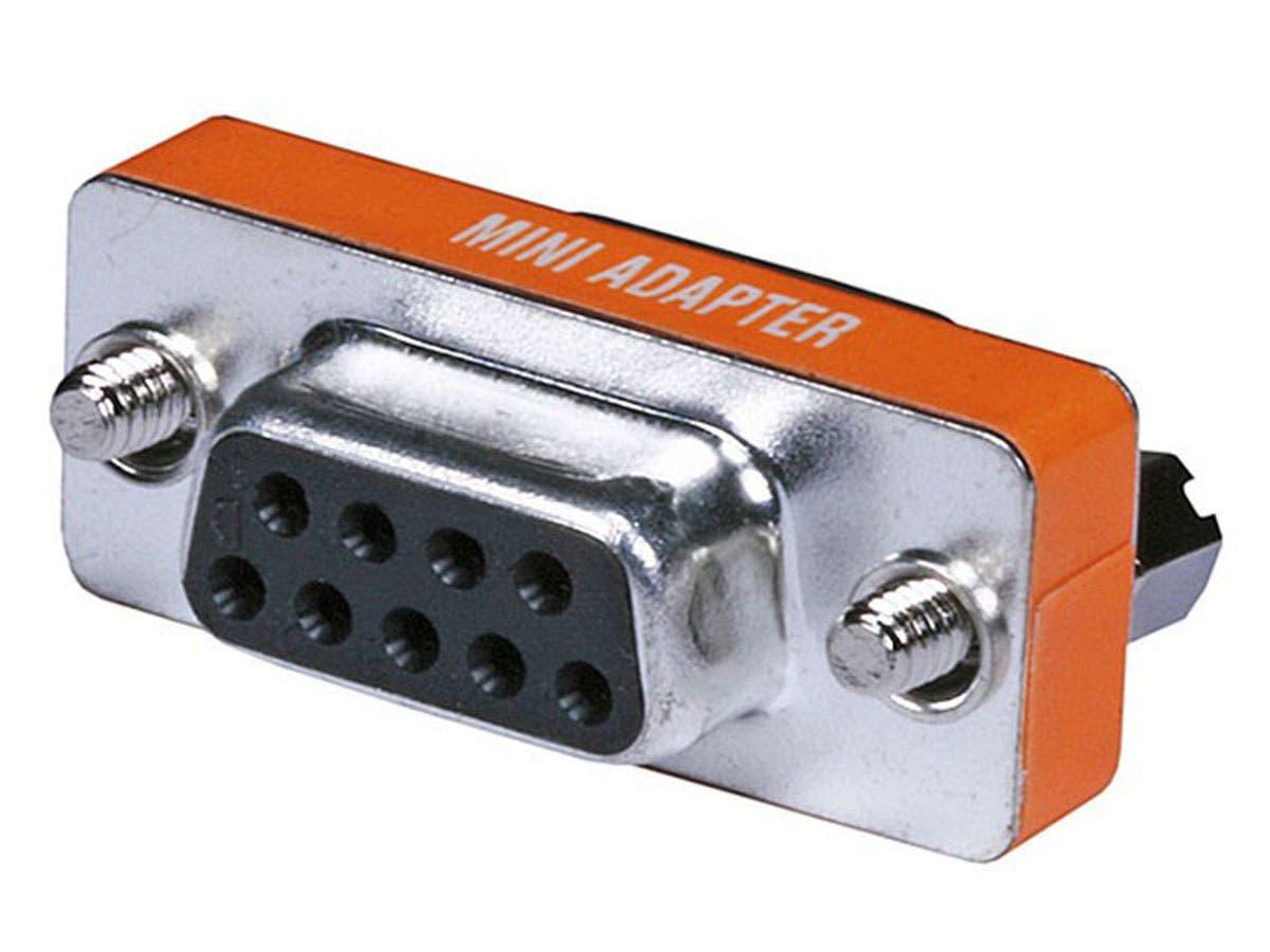 Monoprice DB9, F/F, Null Modem Mini Type-Large-Image-1