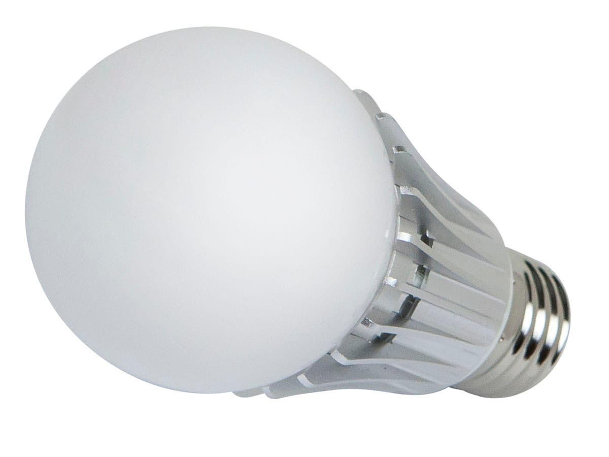 270° 8-Watt (40W Equivalent) A 19 LED Bulb, 630 Lumens, Neutral/ Bright (4000K) - Non-Dimmable