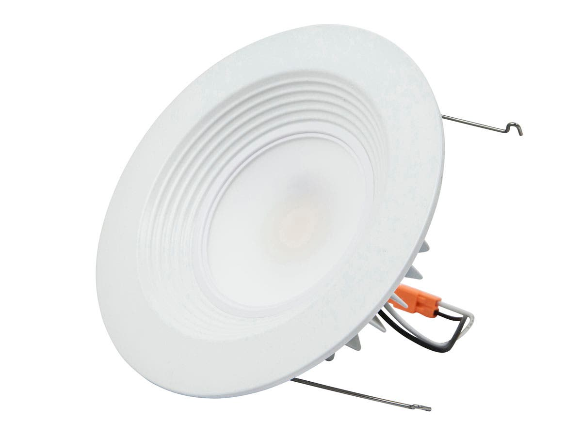 15-Watt (120W Equivalent) 6-inch Recessed LED Downlight Trim, 1000 Lumens, Warm/ Soft (3000K) - Dimmable