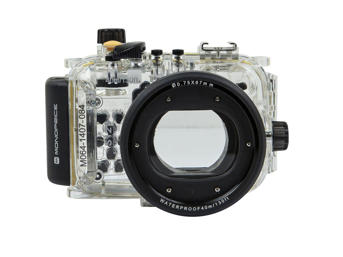 Waterproof Camera Dive Housing For Canon Powershot S120