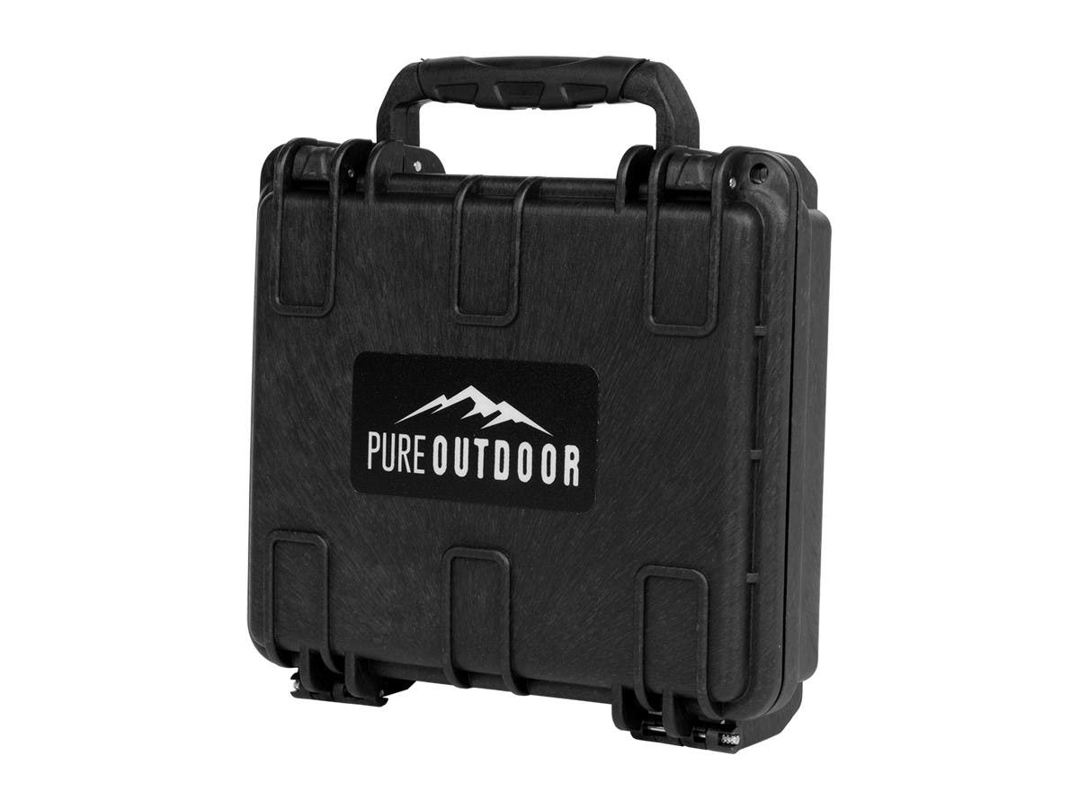 "Monoprice Weatherproof Hard Case with Customizable Foam, 7"" x 6"" x 2""-Large-Image-1"