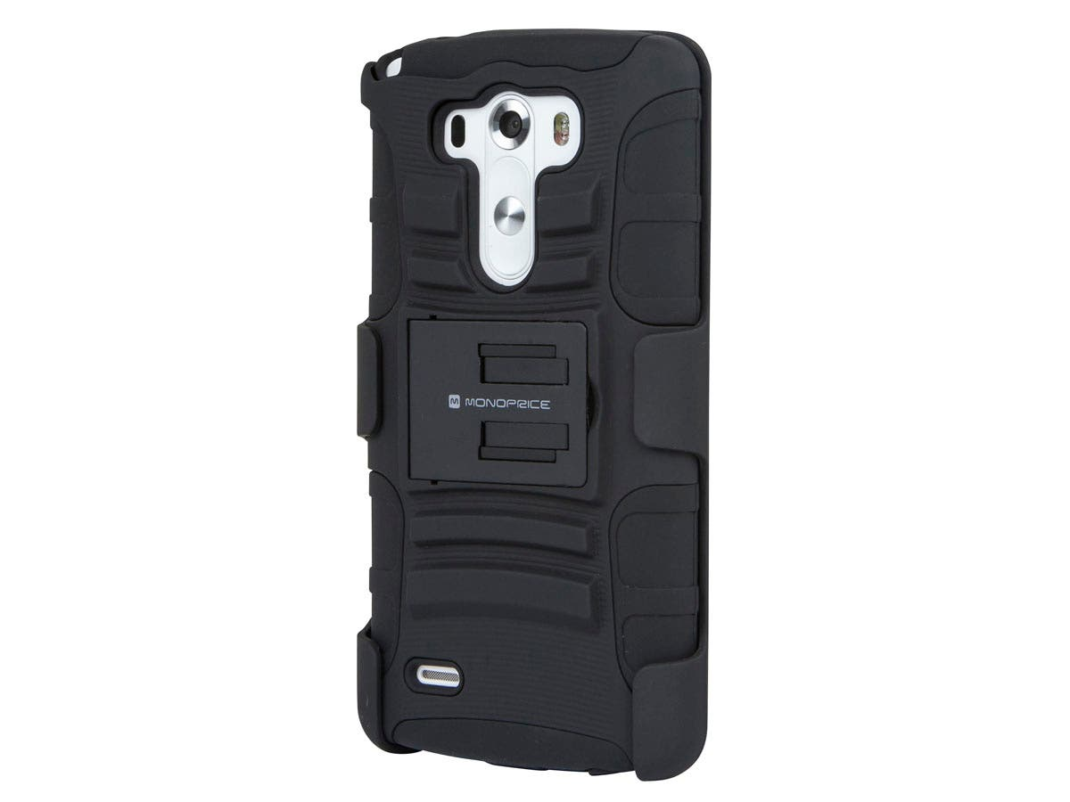 monoprice belt clip armor case with stand for lg g3, black LG Mini Split at Lg 3 Wire Harness Mini Sit