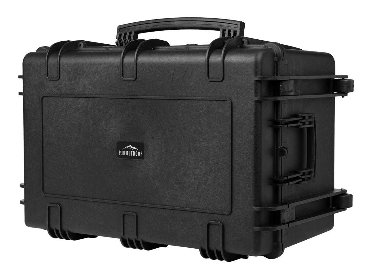 Weatherproof Hard Case with Wheels and Customizable Foam, 33 x 22 x 17 in