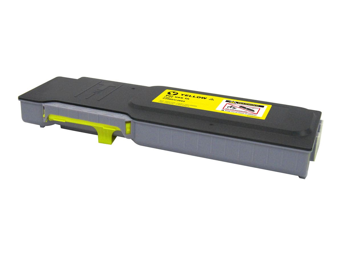 MPI Compatible Dell 593-BBBR (C2660/C2665) Laser Toner-Yellow (High Yield)-Large-Image-1