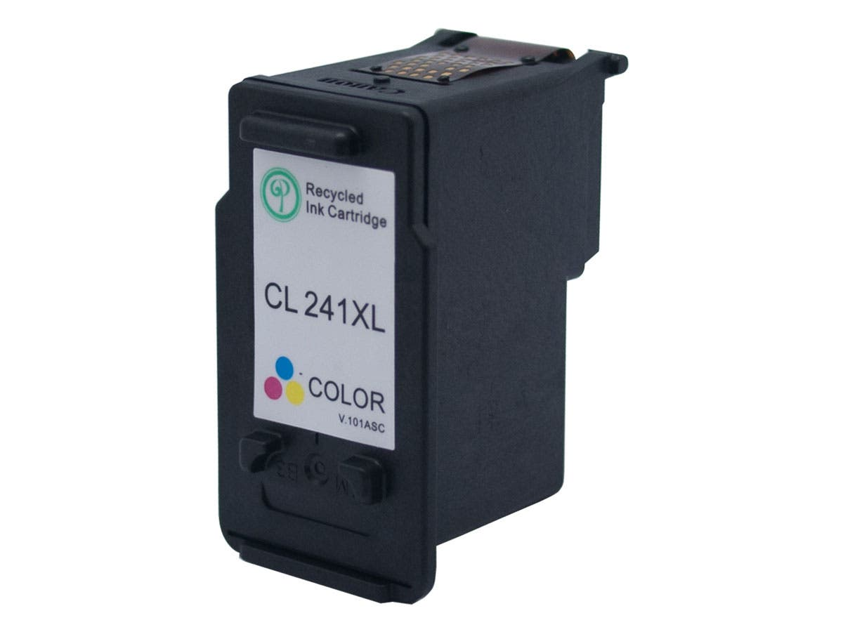 Monoprice Remanufactured Canon CL-241XL Inkjet-TriColor-Large-Image-1