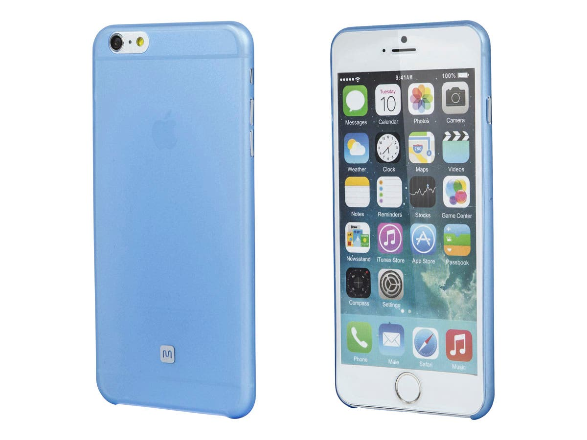 Ultra-thin Shatter-proof Case for 5.5-inch iPhone 6 Plus and 6s Plus, Ice Blue