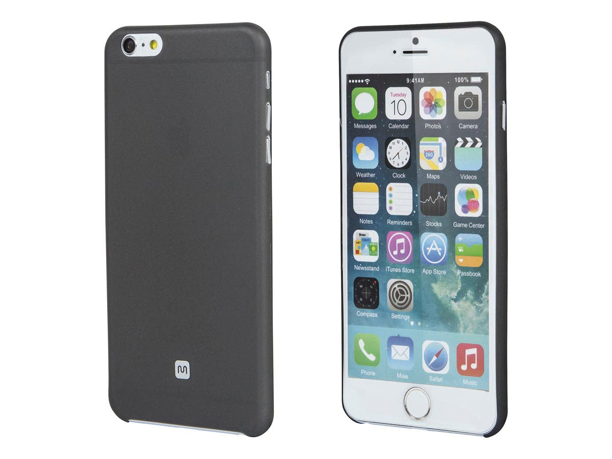 Ultra-thin Shatter-proof Case for 5.5-inch iPhone 6 Plus and 6s Plus, Smoke