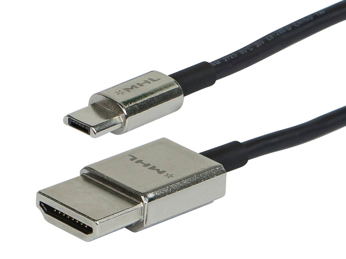 6ft 13-pin to HDMI Passive Cable for Samsung Android Devices (Zn-Alloy Metal Housing)
