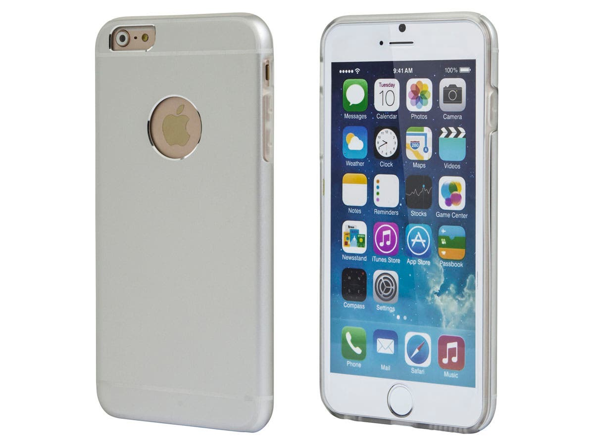 Metal Alloy Protective Case for 5.5-inch iPhone 6 Plus and 6s Plus, Silver