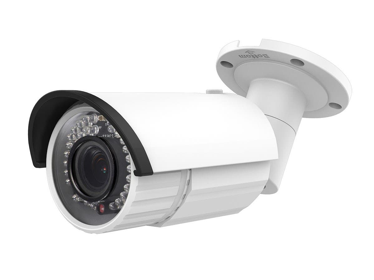 2MP 1080p Full HD IP66 Waterproof Infrared PoE IP Bullet Camera with 2.8-12mm Varifocal Lens