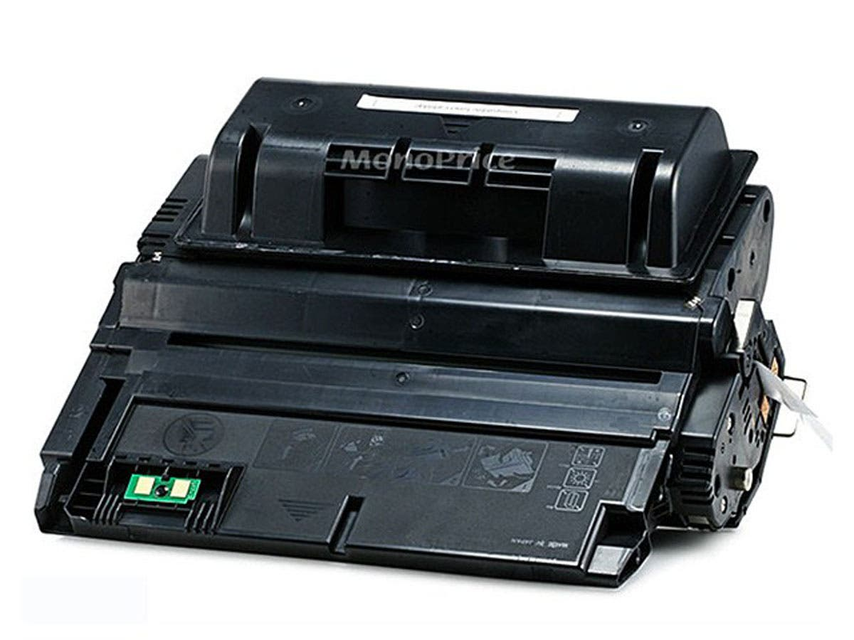 Monoprice Compatible HP38A/HP42A Universal Q1338A/Q5942A Laser/Toner-Black (High Yield)-Large-Image-1