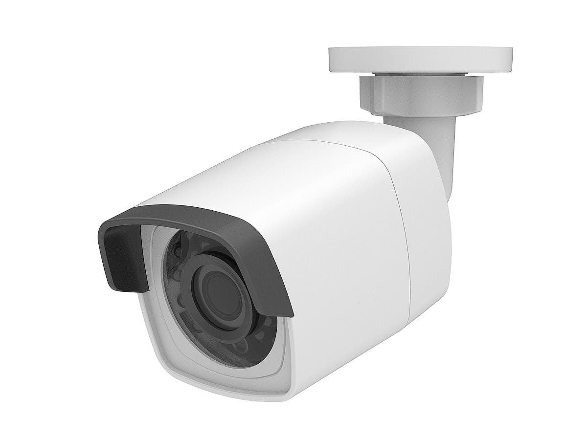 Monoprice IP PoE 2K (2048 x 1536) 3MP IP66 Waterproof Infrared Bullet Camera with 4mm Fixed Lens - main image