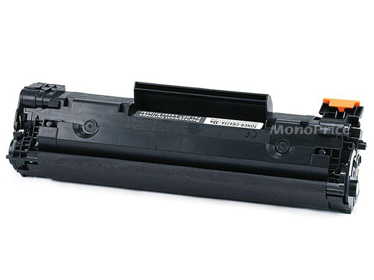 Monoprice Compatible HP35A CB435A Laser/Toner-Black-Large-Image-1