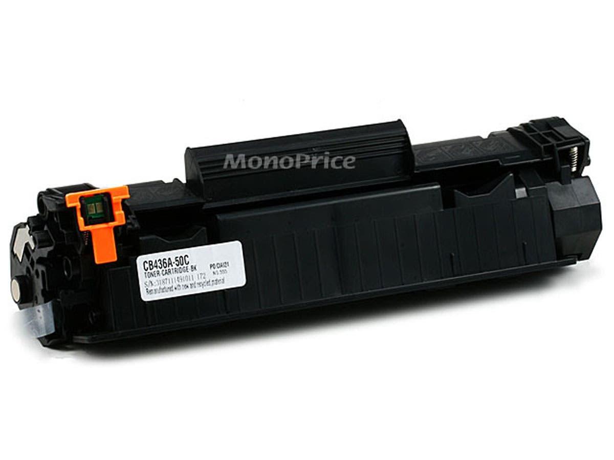 Monoprice Compatible HP36A CB436A Laser/Toner-Black-Large-Image-1