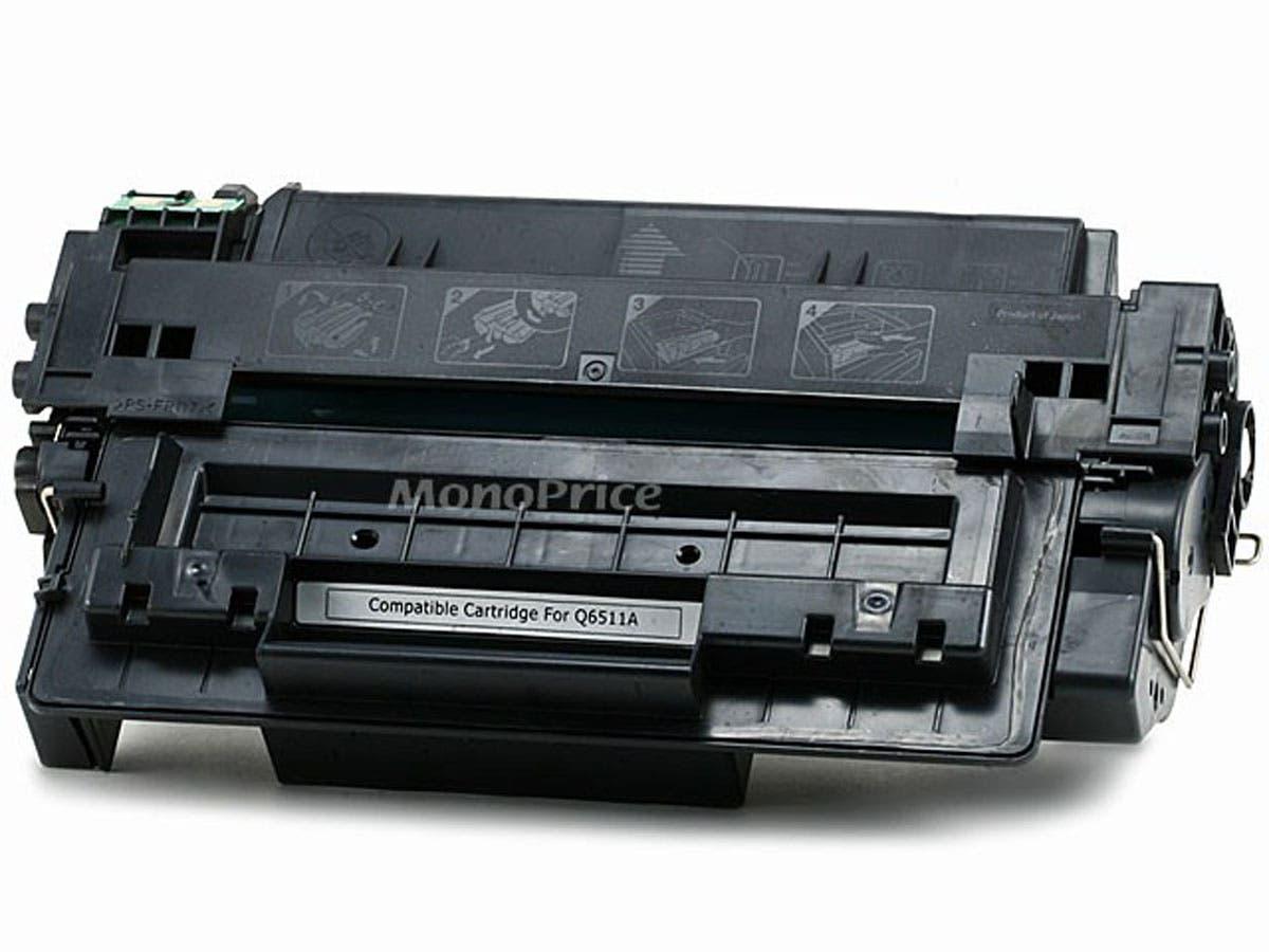 Monoprice Compatible HP11A Q6511A Laser/Toner-Black-Large-Image-1