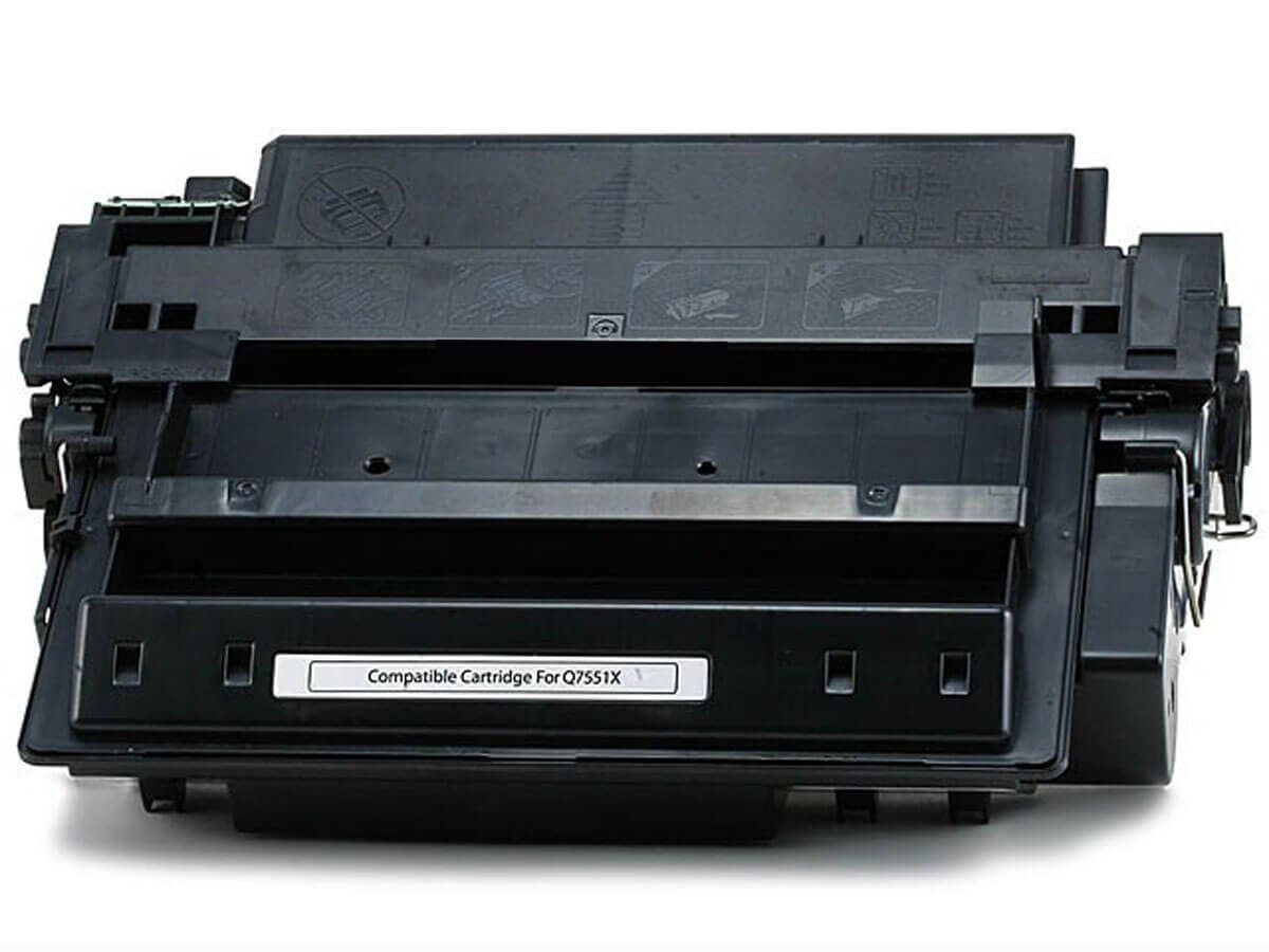 MPI Compatible HP Q7551X Laser/Toner-Black (High Yield)-Large-Image-1