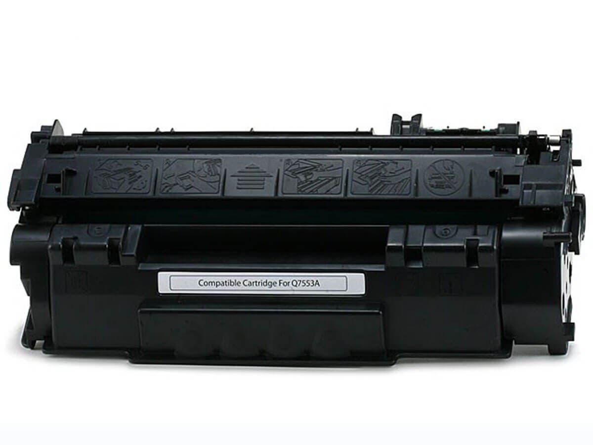 Monoprice Compatible HP53A Q7553A Laser/Toner-Black-Large-Image-1
