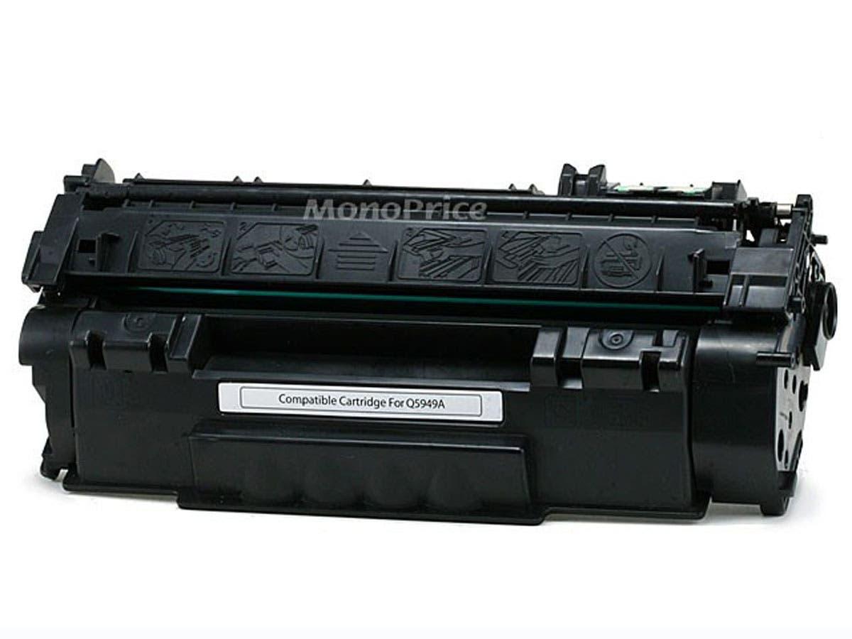 Monoprice Compatible HP49A Q5949A Laser/Toner-Black-Large-Image-1
