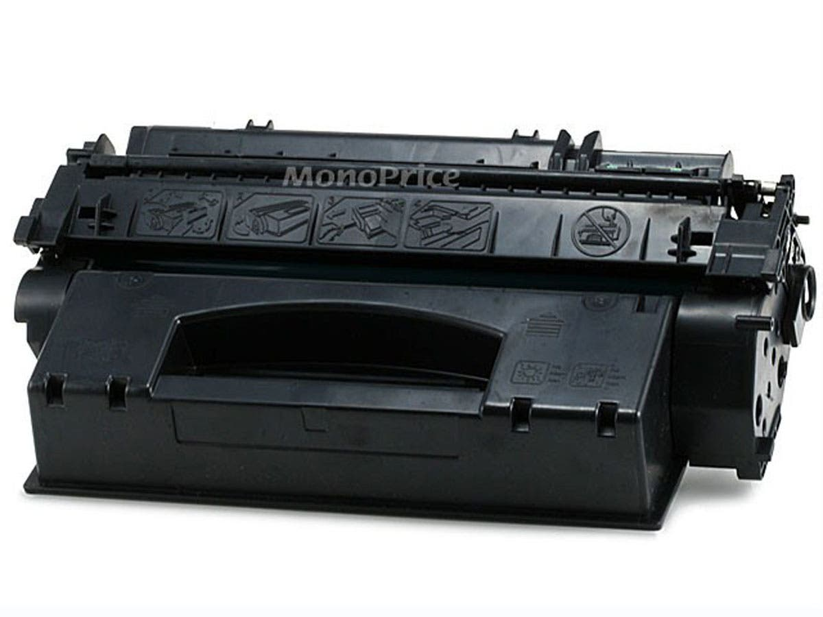 Monoprice Compatible HP49X Q5949X Laser/Toner-Black (High Yield)-Large-Image-1