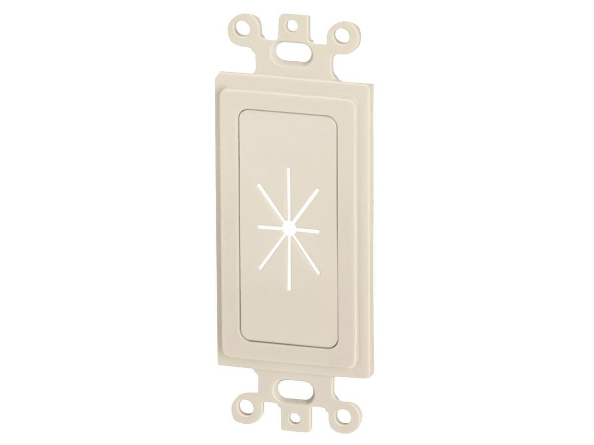 Decor Insert with Flexible Opening, Ivory