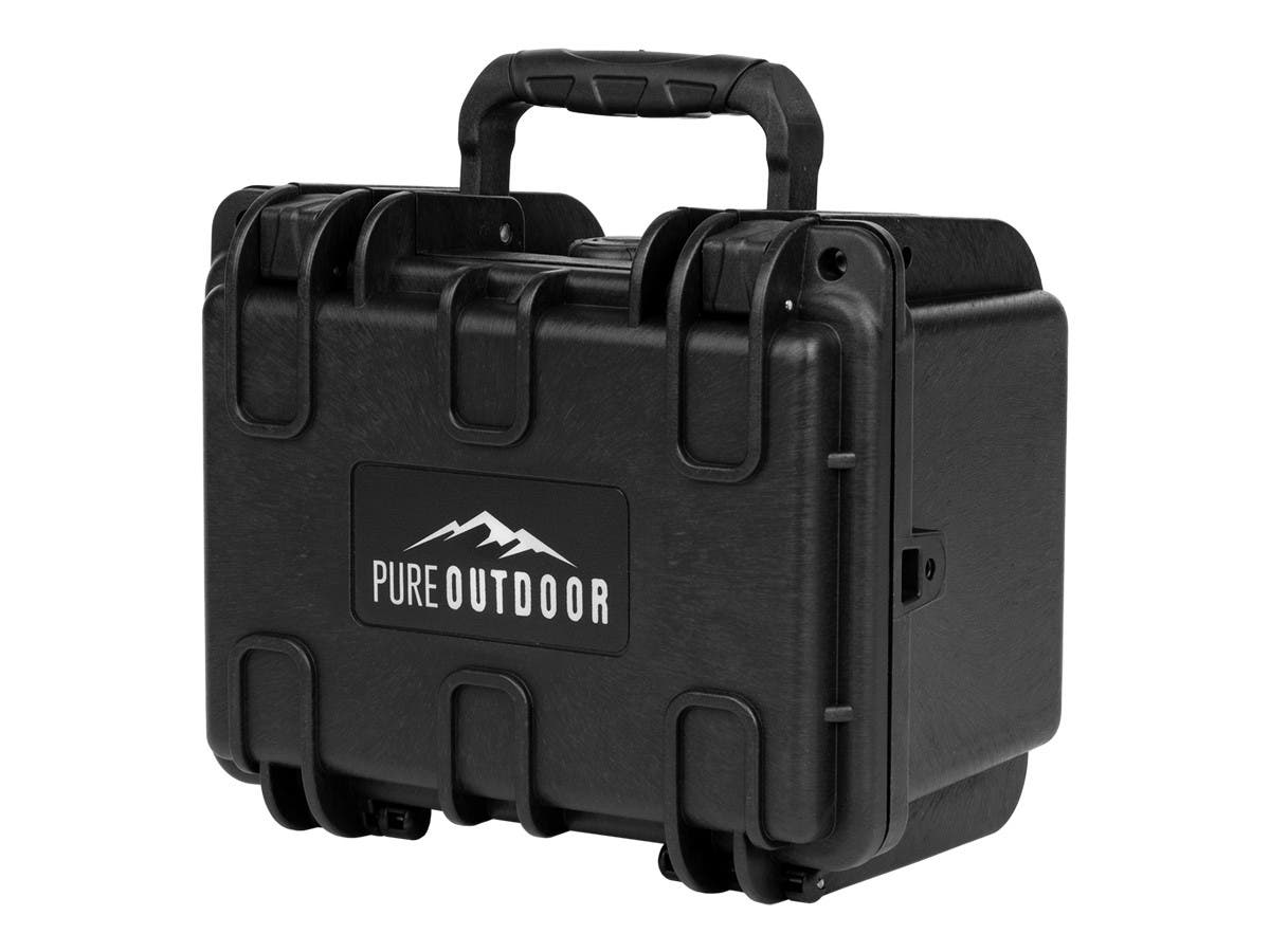Monoprice Weatherproof Hard Case with Customizable Foam, 8 x 7 x 6 in-Large-Image-1