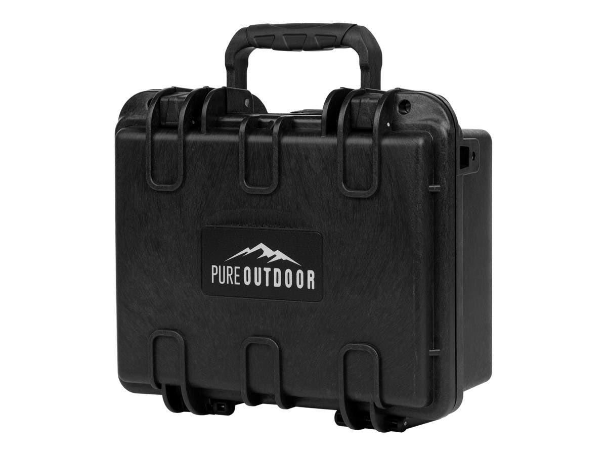 "Monoprice Weatherproof Hard Case with Customizable Foam, 10"" x 8"" x 4""-Large-Image-1"