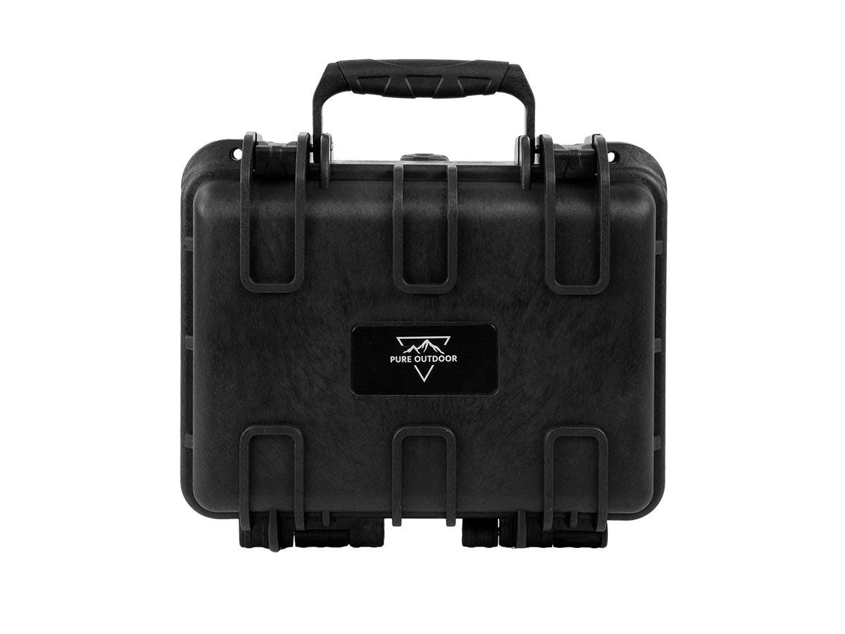 "Monoprice Weatherproof Hard Case with Customizable Foam, Fits HUBSAN Quadcopter Drones, 12"" x 10"" x 6""-Large-Image-1"