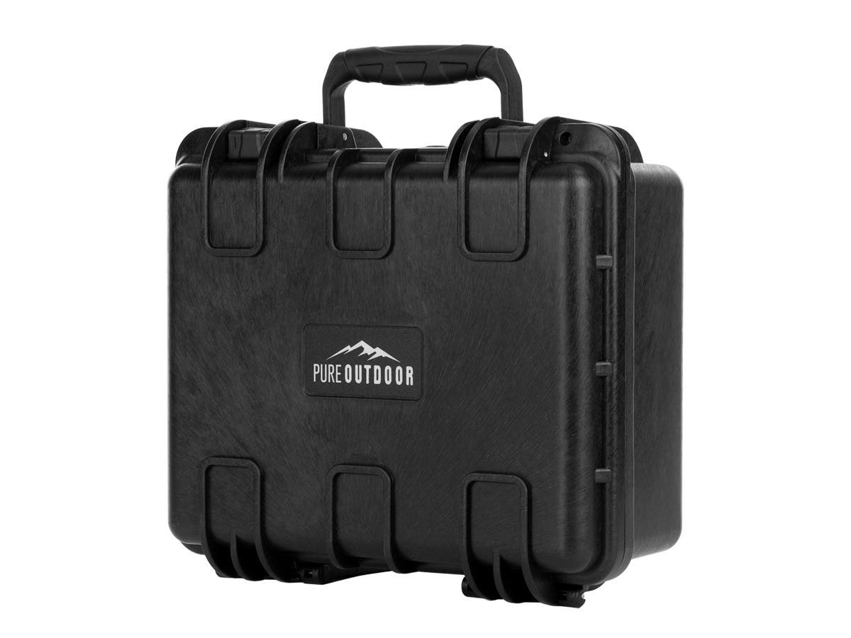 "Monoprice Weatherproof Hard Case with Customizable Foam, 13"" x 12"" x 6""-Large-Image-1"