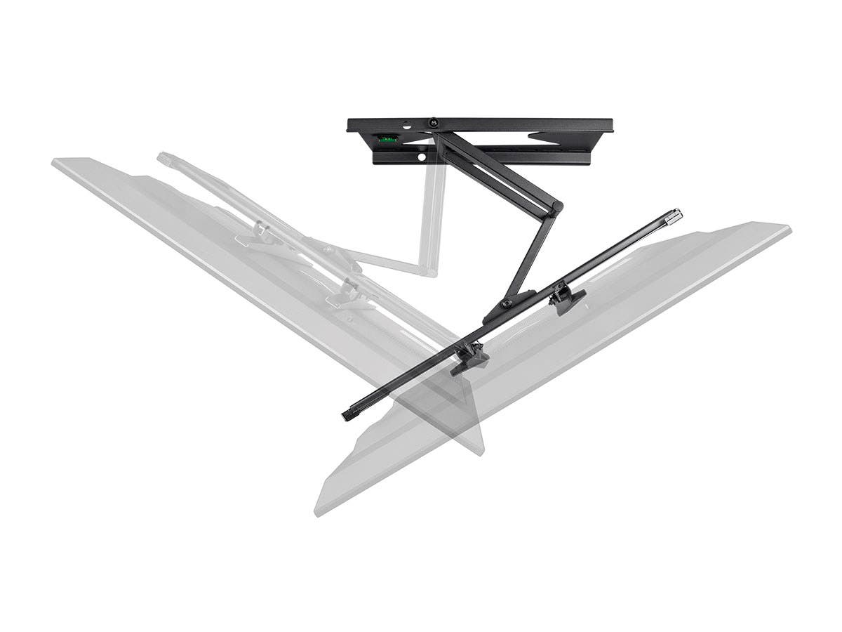 Full Motion TV Wall Mount Bracket with Anti-Theft Feature, UL Certified (Max 88 lbs, 37~70 inch)