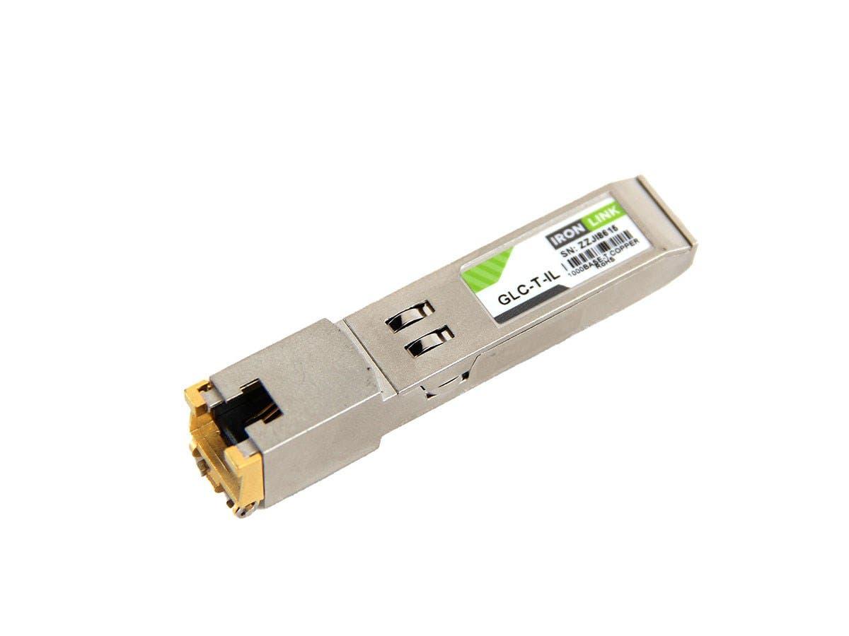 Monoprice Ironlink Cisco GLC-T Compatible 1000Base-T Copper SFP (mini-GBIC) Module-Large-Image-1