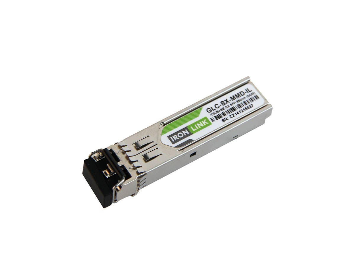 Ironlink Cisco GLC-SX-MMD Compatible 1000Base-SX MMF LC with DOM 850NM 550M SFP
