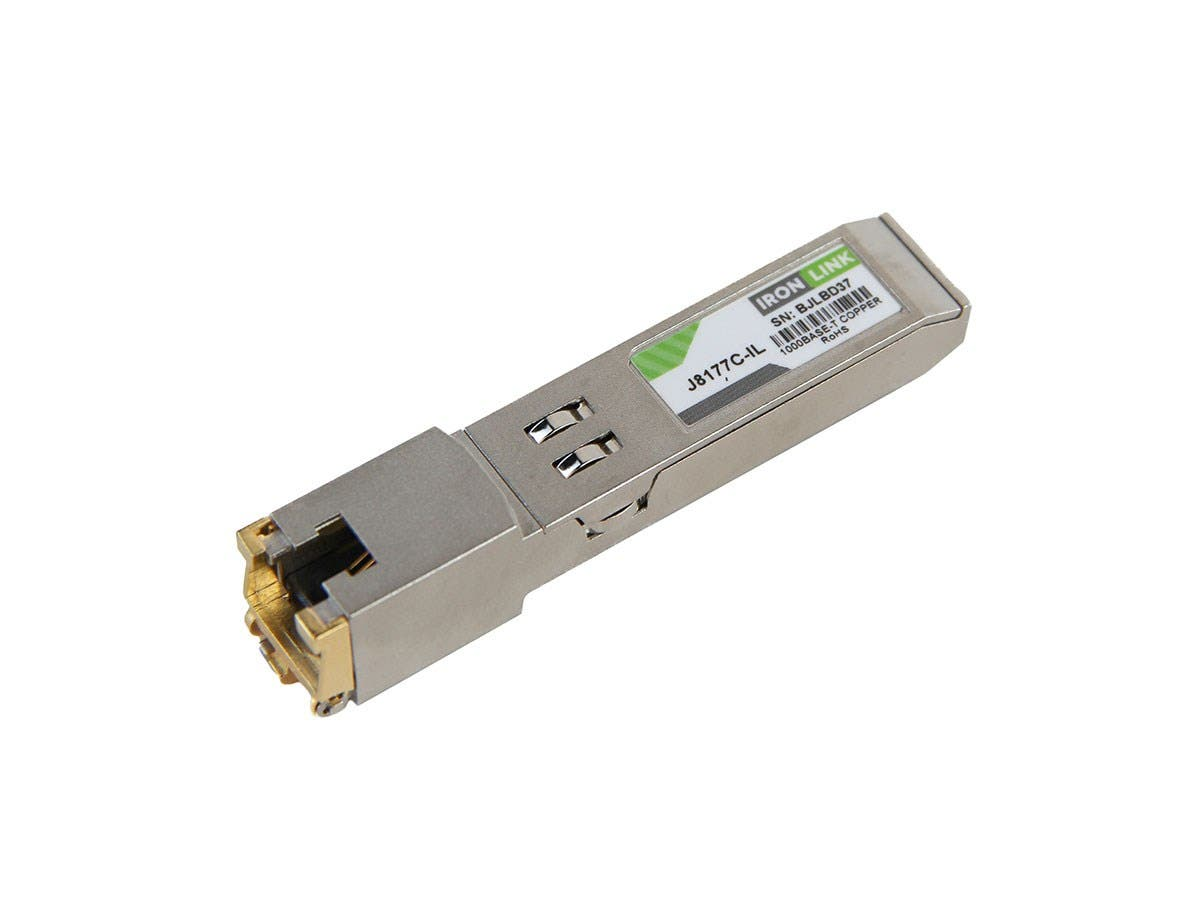 Ironlink HP J8177C Compatible 1000Base-T Copper SFP (mini-GBIC) Module