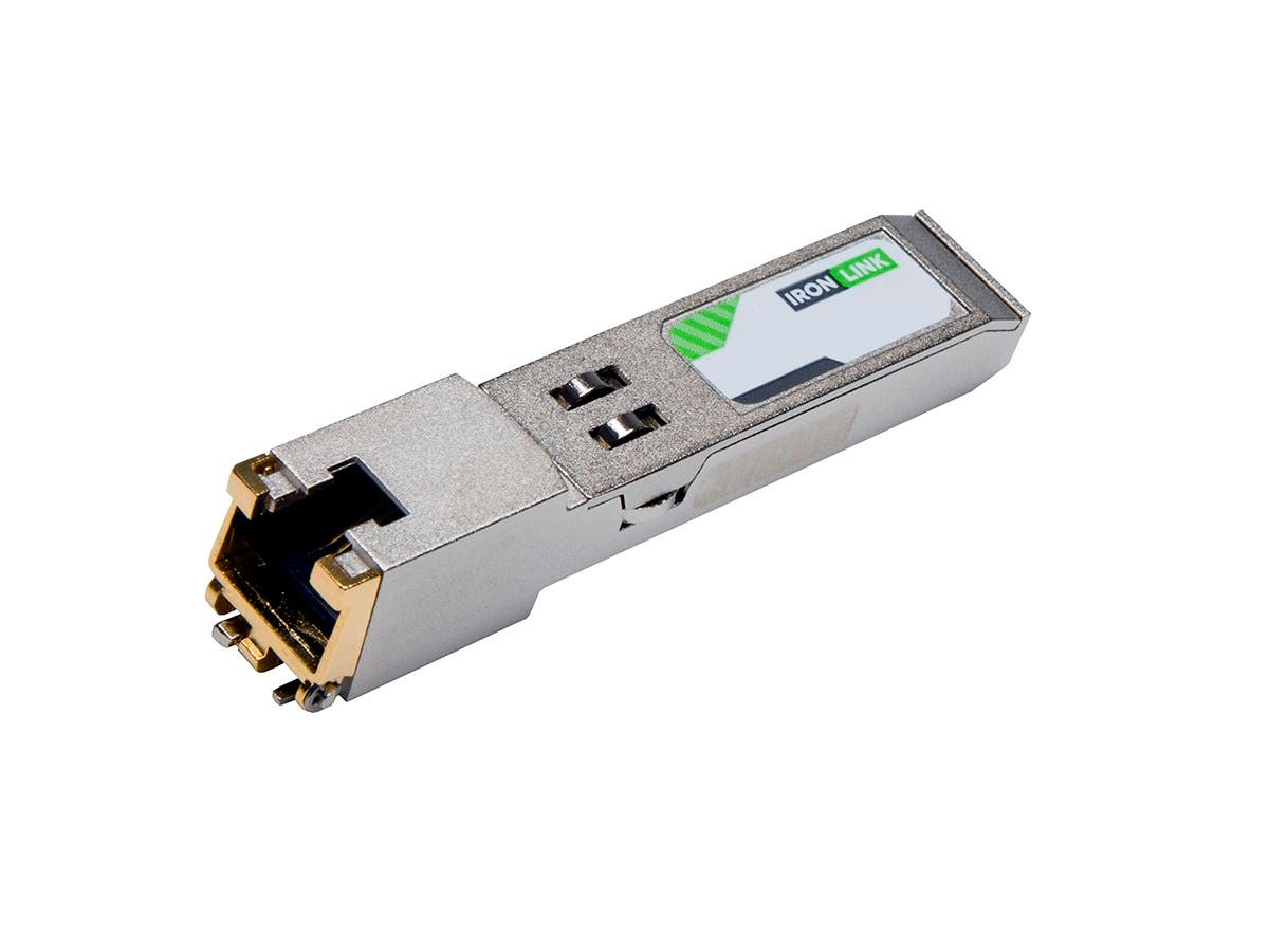 Monoprice Ironlink Juniper EX-SFP-1GE-T-IL Compatible 10/100/1000 TRANSCEIVER MOD SMALL-Large-Image-1