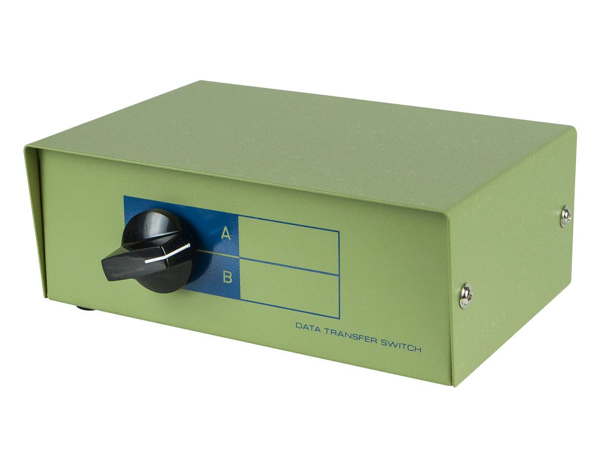 DB9 Female, AB 2 Way Switch Box -Large-Image-1