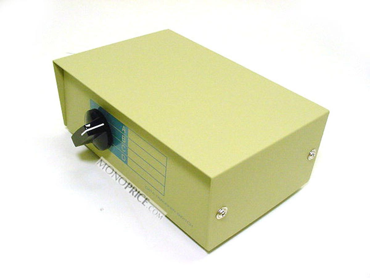 DB9 Female, ABCD 4 Way Switch Box