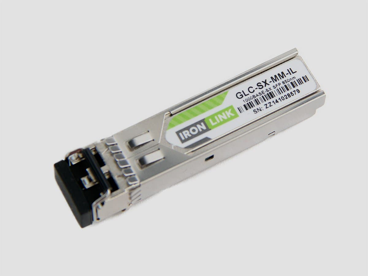 Monoprice Ironlink Cisco GLC-SX-MM-IL Compatible LC SX Transceiver-Large-Image-1