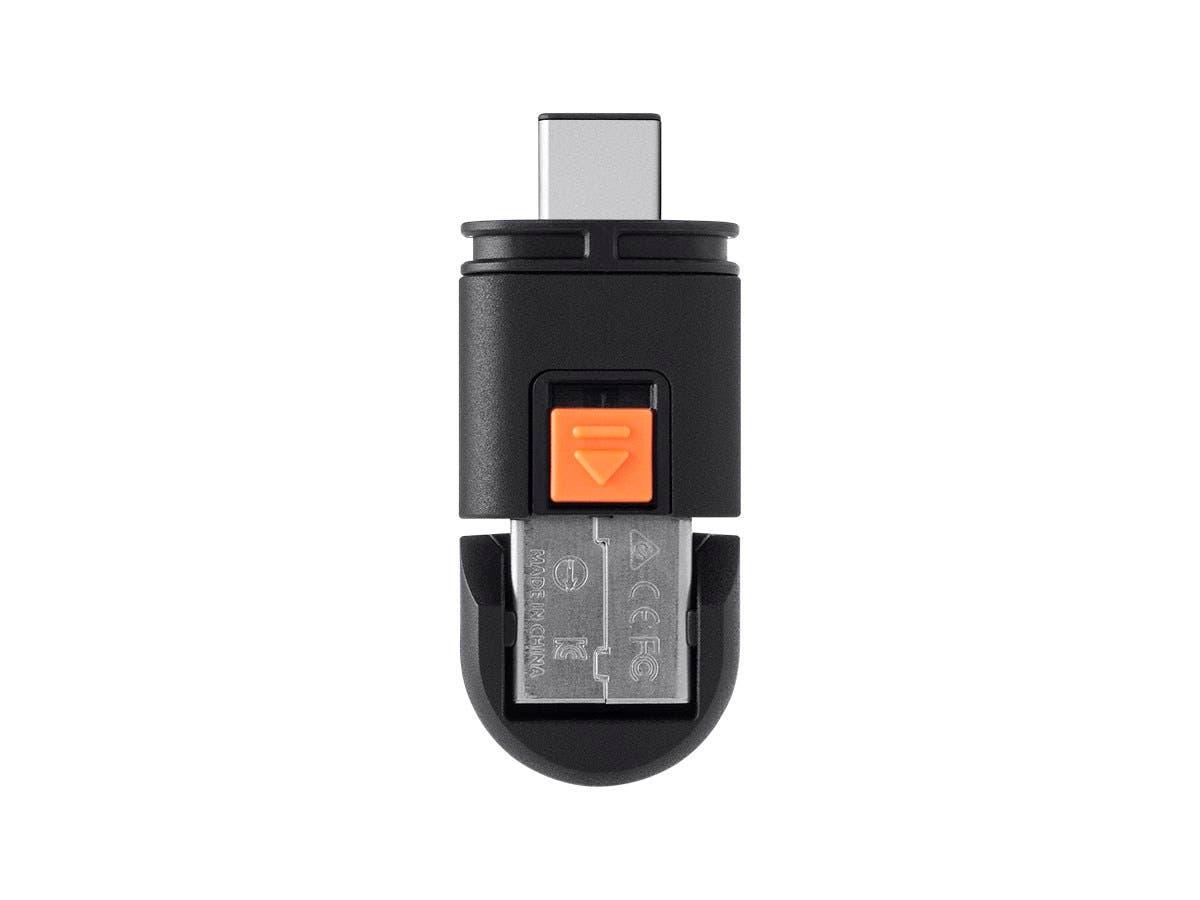 Monoprice Dual Mode USB-C MicroSD Reader-Large-Image-1