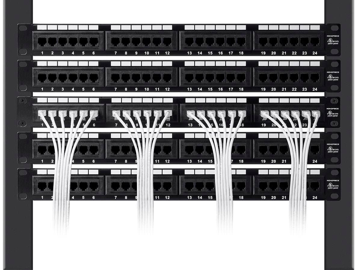 Monoprice Slimrun Cat6 Ethernet Patch Cable Snagless Rj45 Stranded Mdisk Kabel Vga Blue Plate 10 Meter 550mhz Utp