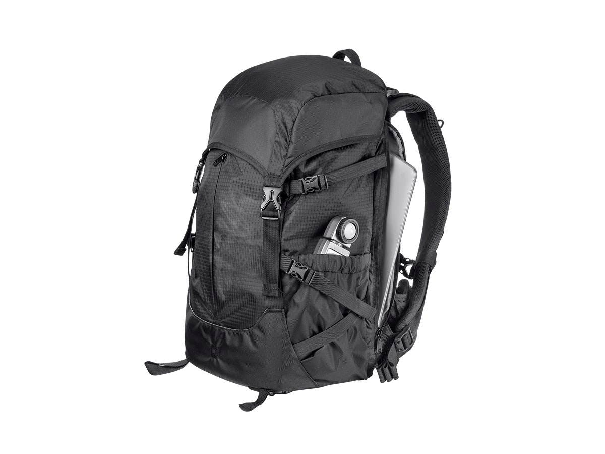 Monoprice DSLR Travel Blogger Backpack 14L, Black-Large-Image-1