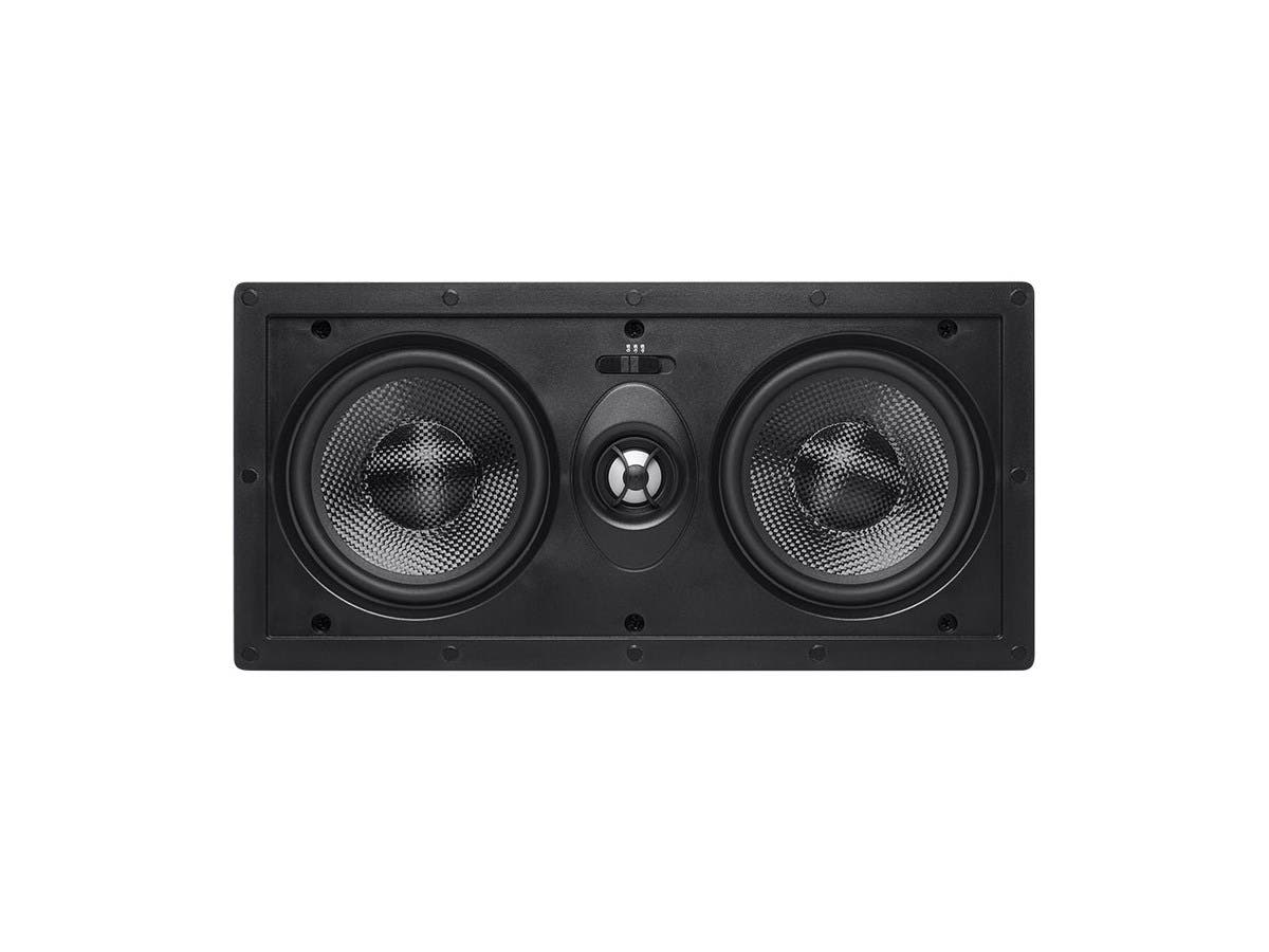 Alpha In Wall Center Channel Speaker Dual 5 25 Inch Carbon