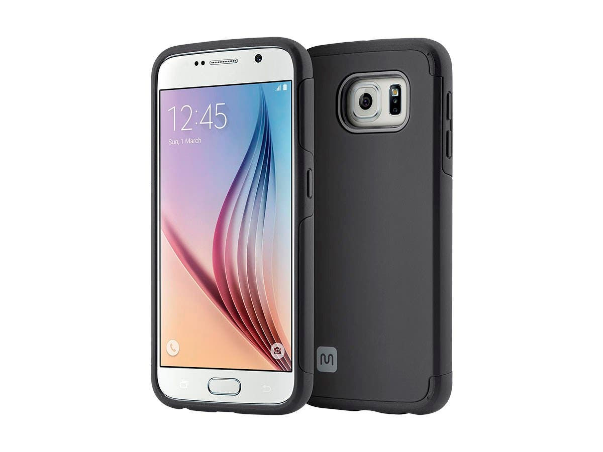 Protector Series Phone Case for Samsung Galaxy S6, Black