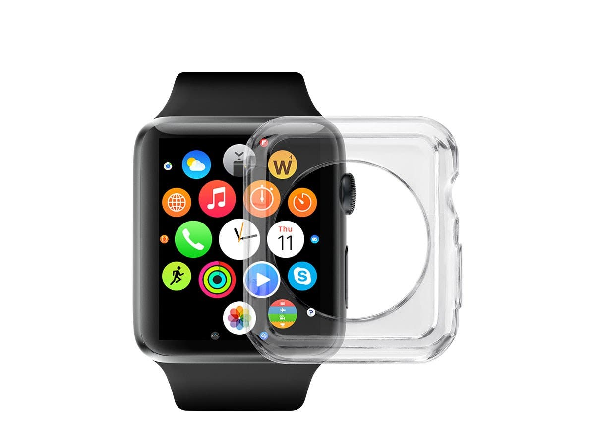 Clear Soft TPU Case for 38mm Apple Watch
