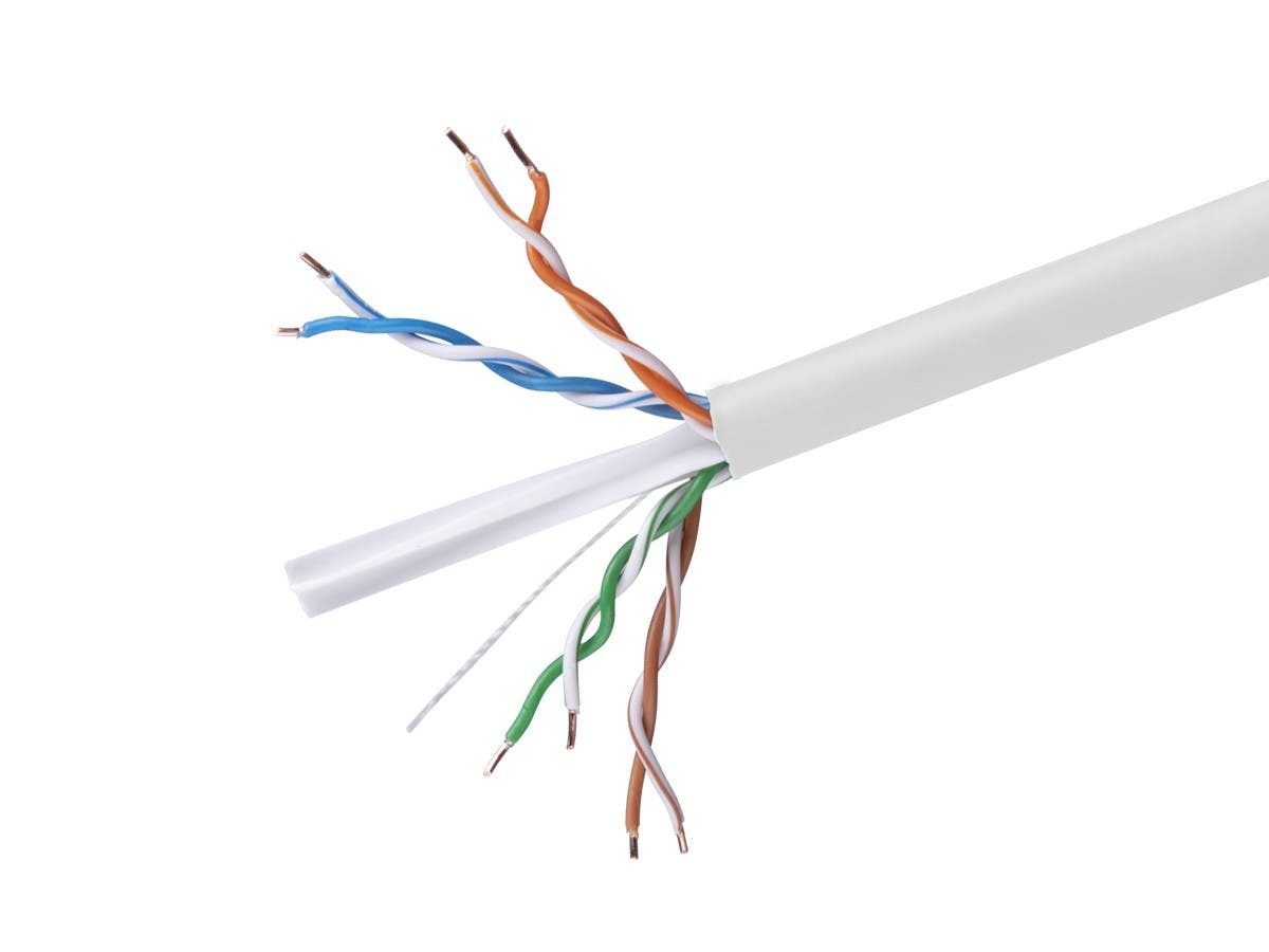 Monoprice cat6 ethernet bulk cable solid 550mhz utp cmr riser monoprice cat6 ethernet bulk cable solid 550mhz utp cmr riser rated keyboard keysfo Gallery
